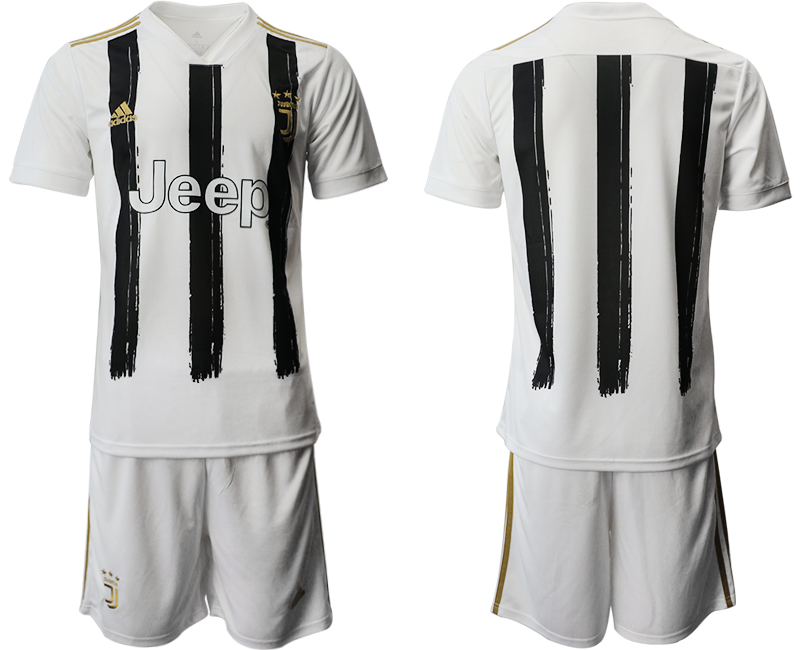 2020-21 Juventus Home Soccer Jersey