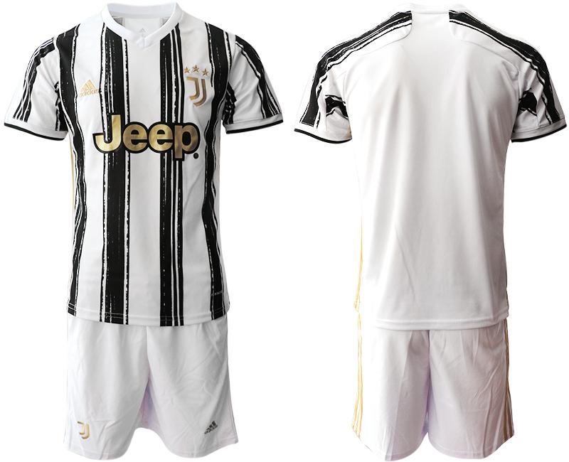 2020-21 Juventus Home Soccer Jerseys