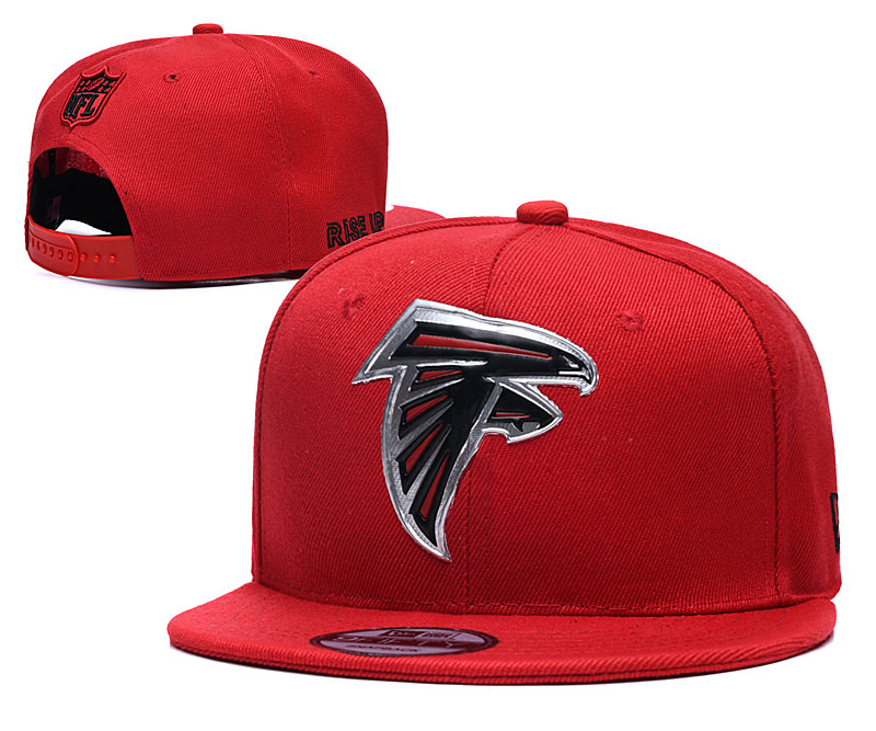 Falcons Team Logo Red Adjustable Hat YD