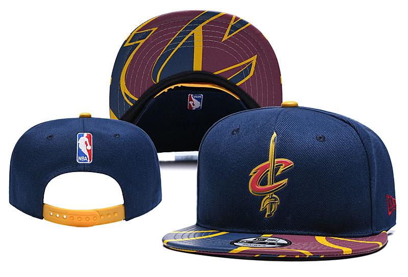 Cavaliers Team Logo Navy Adjustable Hat YD