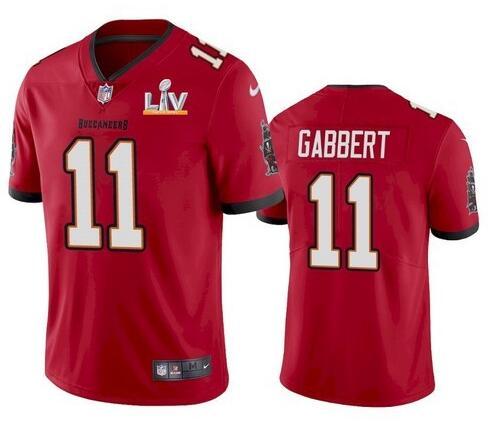 Nike Buccaneers 11 Blaine Gabbert Red 2021 Super Bowl LV Vapor Untouchable Limited Jersey