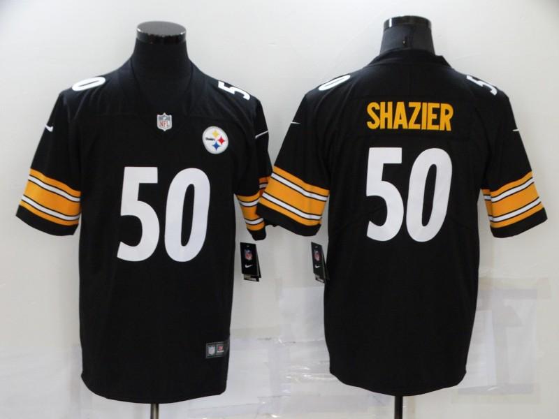 Nike Steelers 50 Ryan Shazier Black Vapor Untouchable Limited Jersey