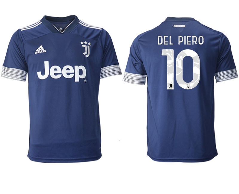 2020-21 Juventus 10 DEL PIERO Away Thailand Soccer Jersey