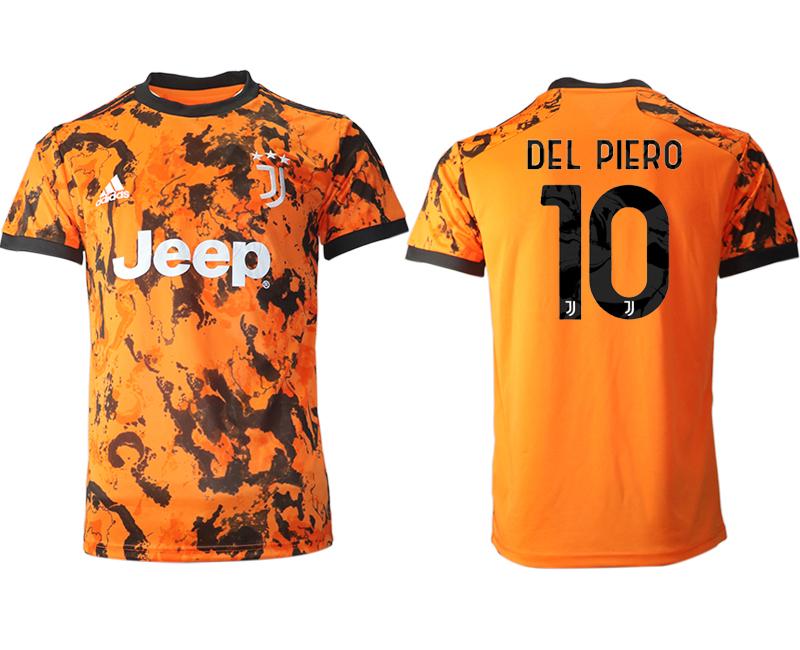 2020-21 Juventus 10 DEL PIERO Third Thailand Soccer Jersey