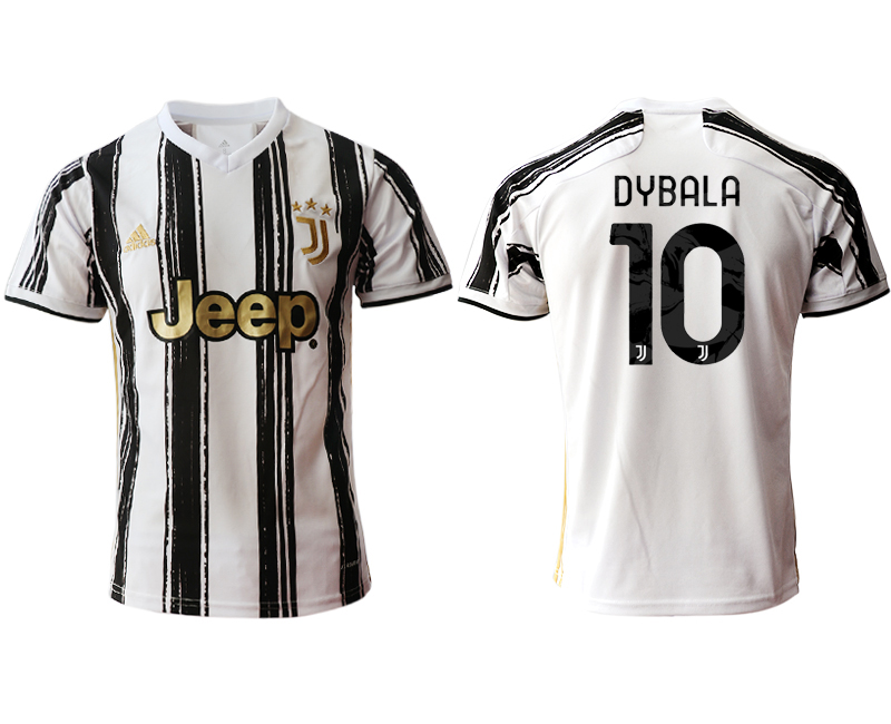 2020-21 Juventus 10 DYBALA Home Thailand Soccer Jersey