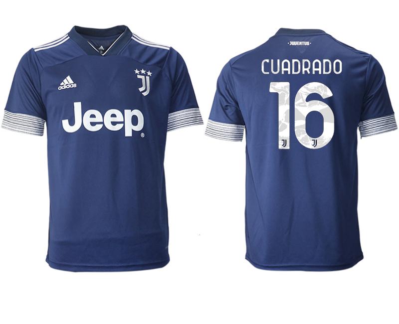 2020-21 Juventus 16 CUADRADO Away Thailand Soccer Jersey