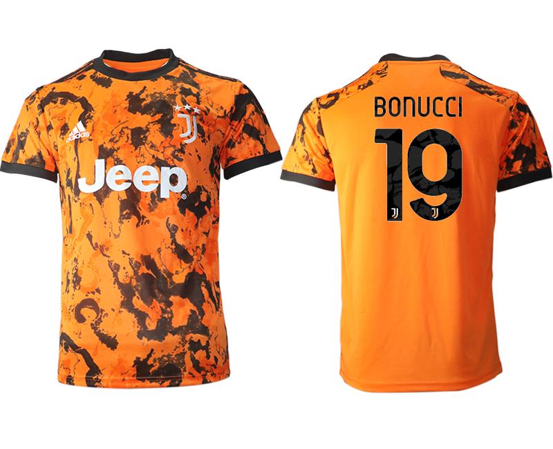 2020-21 Juventus 19 BONUCCI Third Thailand Soccer Jersey