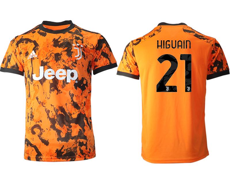 2020-21 Juventus 21 HIGUAIN Third Thailand Soccer Jersey