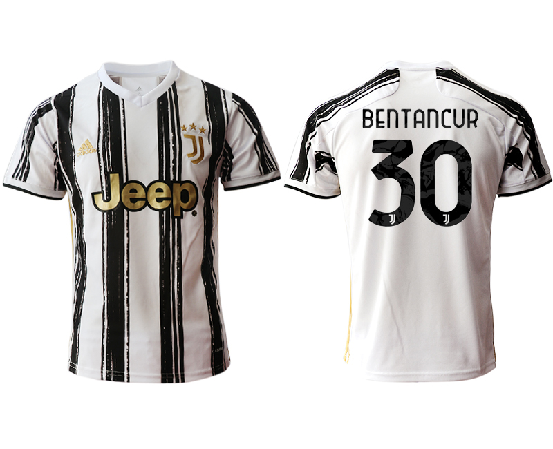 2020-21 Juventus 30 BENTANCUR Home Thailand Soccer Jersey