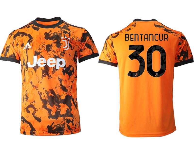 2020-21 Juventus 30 BENTANCUR Third Thailand Soccer Jersey