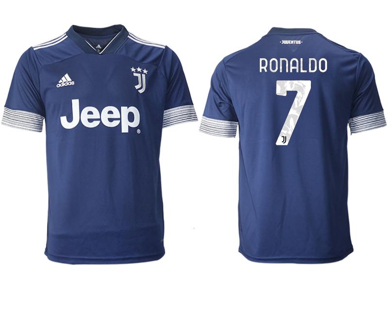 2020-21 Juventus 7 RONALDO Away Thailand Soccer Jersey