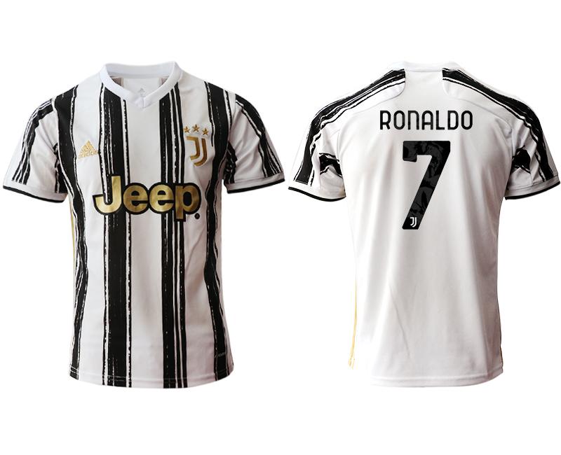 2020-21 Juventus 7 RONALDO Home Thailand Soccer Jersey
