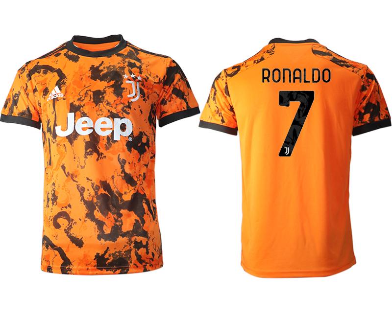 2020-21 Juventus 7 RONALDO Third Thailand Soccer Jersey