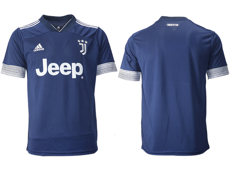 2020-21 Juventus Away Thailand Soccer Jersey