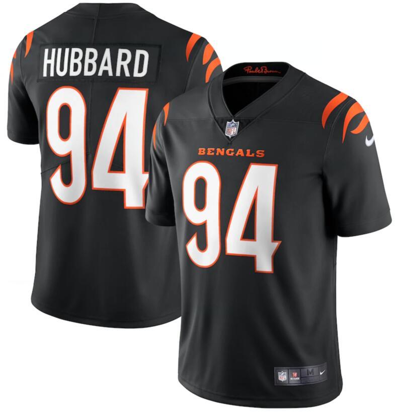 Nike Bengals 94 Sam Hubbard Black Vapor Limited Jersey