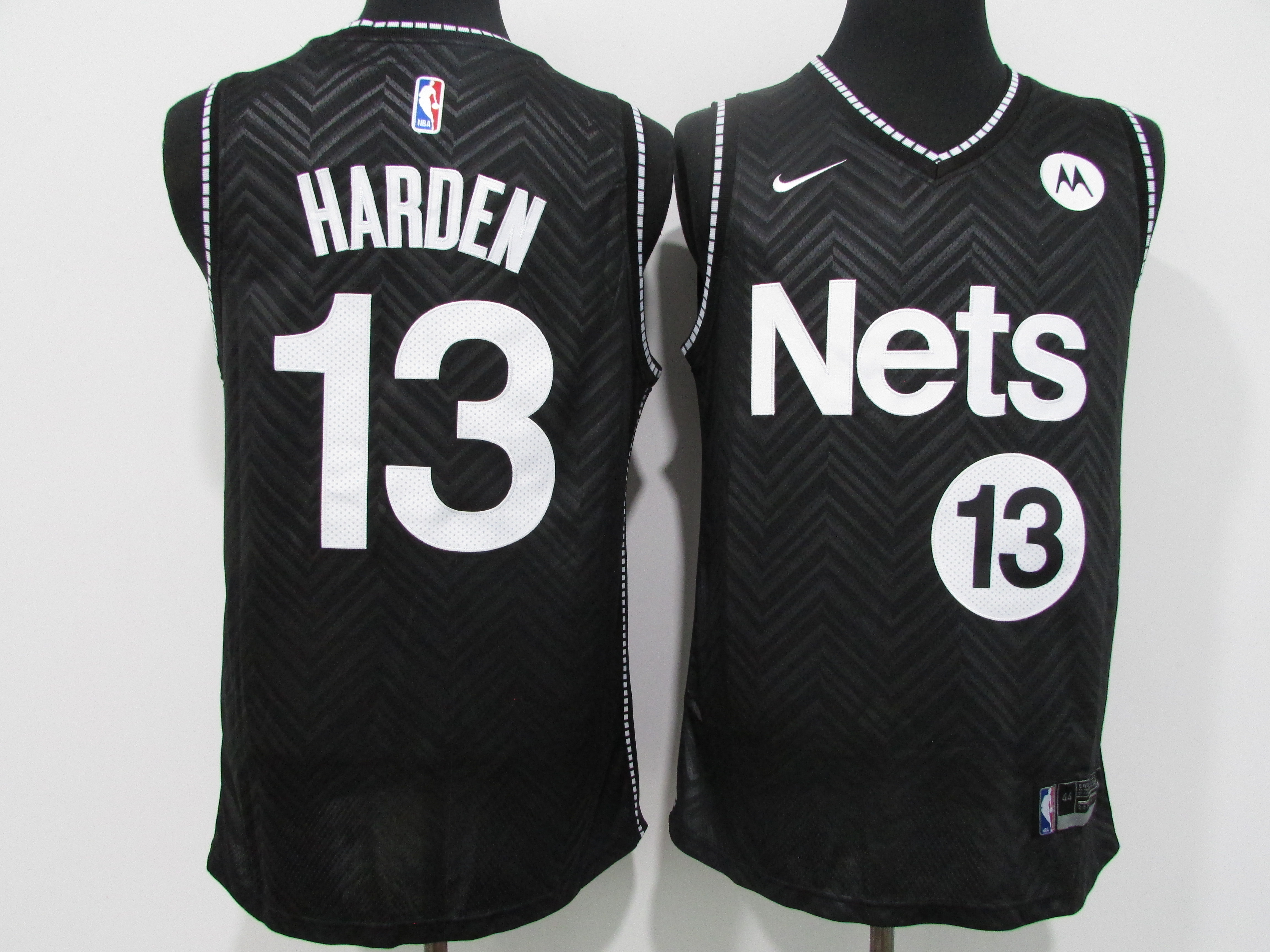Nets 13 James Harden Black 2021 Earned Edition Swingman Jersey