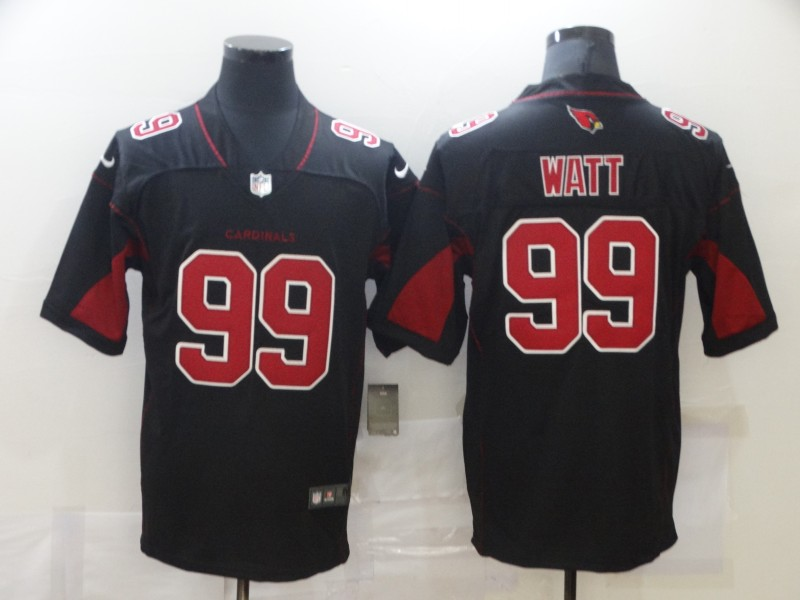 Nike Cardinals 99 J.J. Watt Black Color Rush Limited Jersey