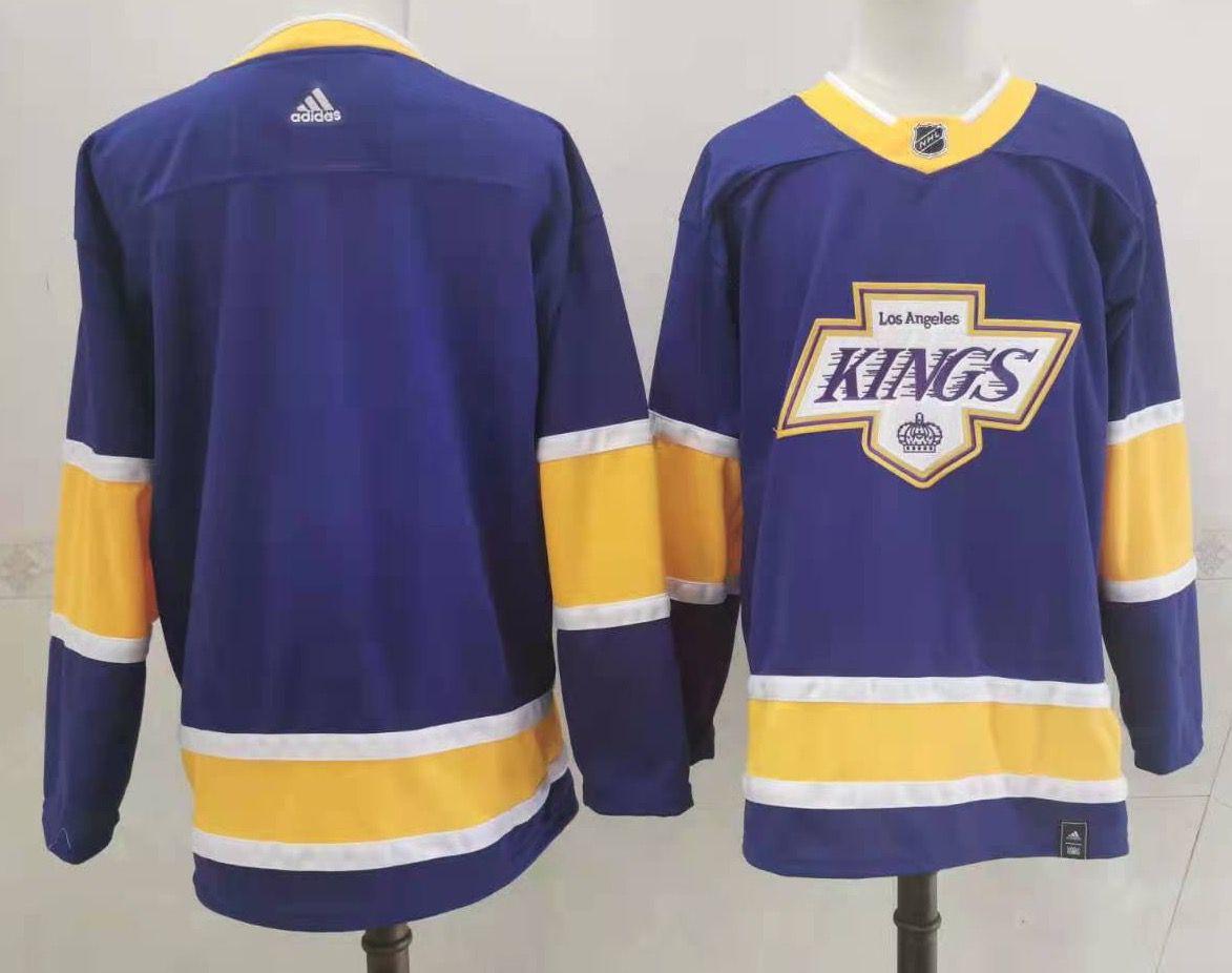 Kings Blank Purple 2020-21 Reverse Retro Adidas Jersey