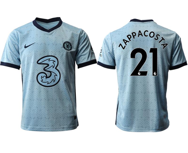 2020-21 Chelsea 21 ZAPPACOSTA Away Thailand Soccer Jersey