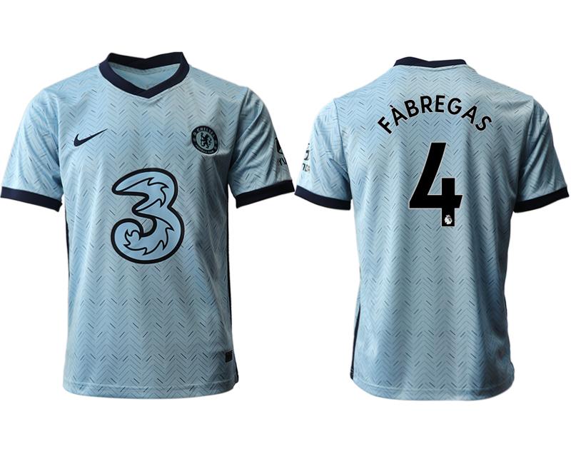 2020-21 Chelsea 4 FABREGAS Away Thailand Soccer Jersey