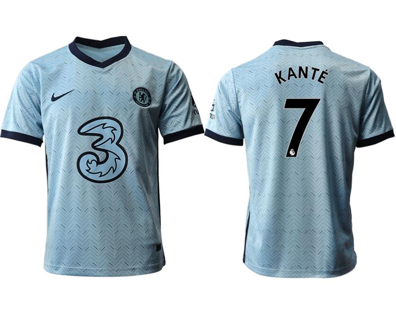 2020-21 Chelsea 7 KANTE Away Thailand Soccer Jersey