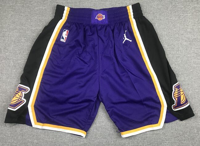 Lakers Purple Jordan Brand Swingman Shorts