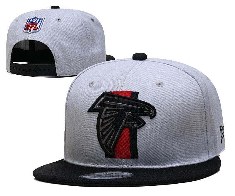 Falcons Team Logo Gray Adjustable Hat YD
