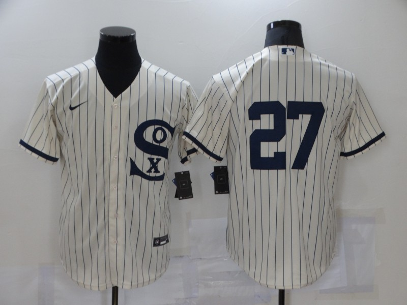 White Sox 27 Lucas Giolito Cream Nike 2021 Field Of Dreams Cool Base Jersey