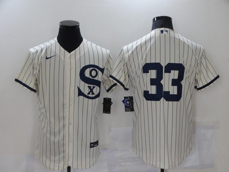 White Sox 33 Lance Lynn Cream Nike 2021 Field Of Dreams Flexbase Jersey