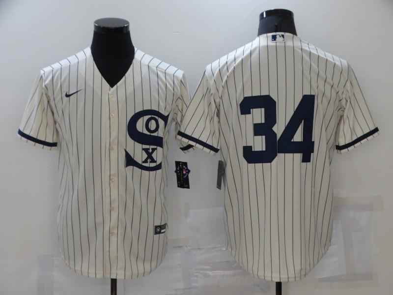 White Sox 34 Michael Kopech Cream Nike 2021 Field Of Dreams Player Cool Base Jersey