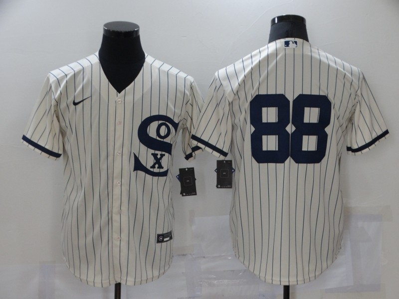 White Sox 88 Luis Robert Cream Nike 2021 Field Of Dreams Player Cool Base Jersey