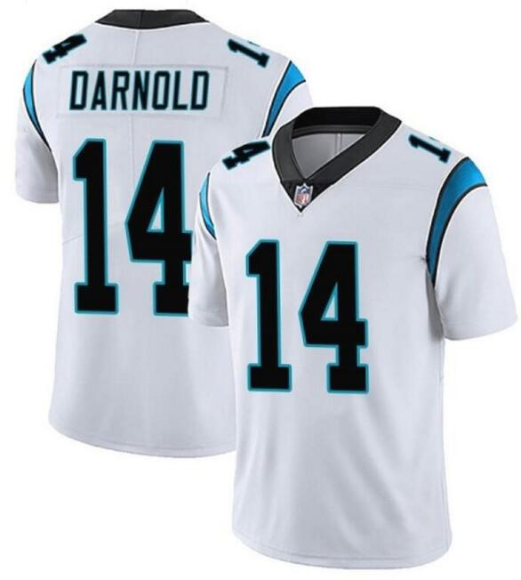 Nike Panthers 14 Sam Darnold White Vapor Untouchable Limited Jersey