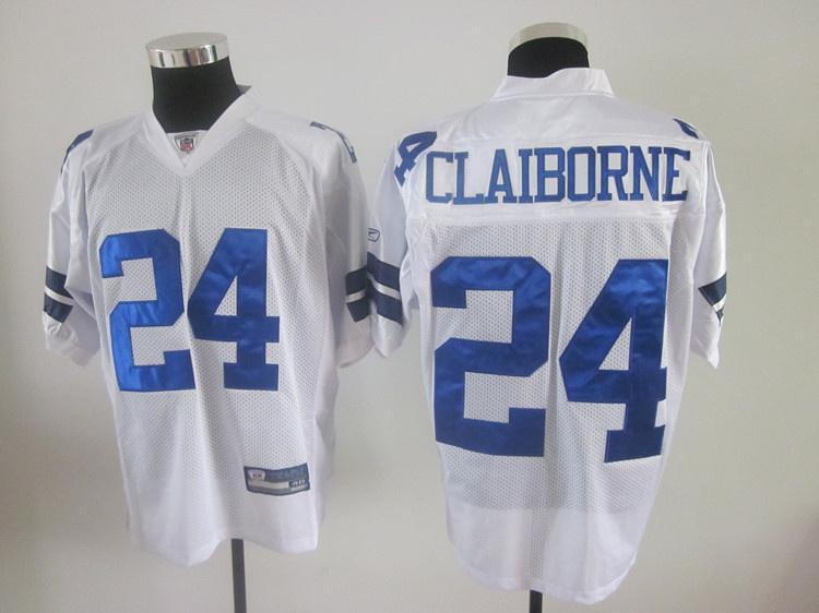 Cowboys 24 Morris Claiborne White Jerseys