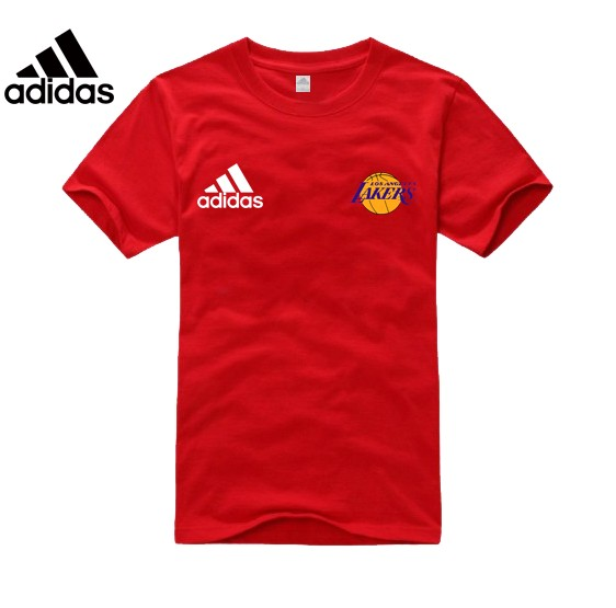 Adidas Los Angeles Lakers red T-Shirt