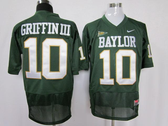 Baylor Bears 10 Robert Griffin Griffin III Jerseys