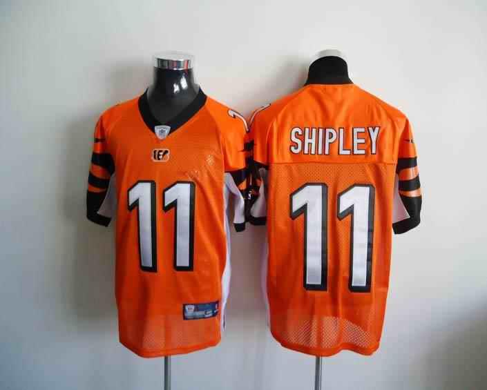 Bengals 11 Shipley Orange Jerseys