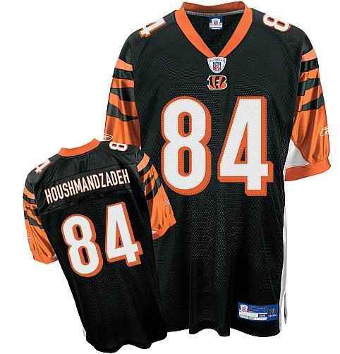Bengals 84 T.J. Houshmandzadeh Black Jerseys