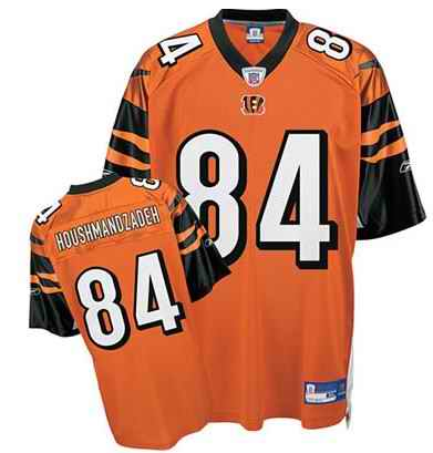 Bengals 84 T.J. Houshmandzadeh Orange Jerseys