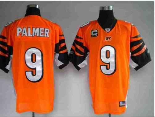Bengals 9 Carson Palmer Orange Jerseys