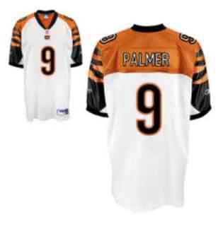 Bengals 9 Carson Palmer White Jerseys