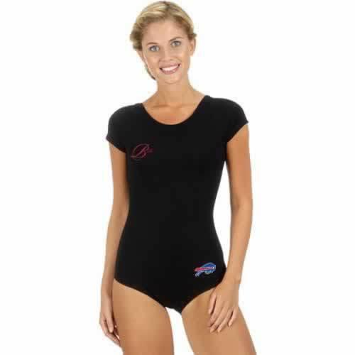 Buffalo Bills Black Women Swimsuit
