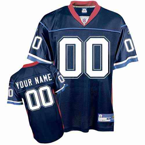 Buffalo Bills Youth Customized dark blue Jersey