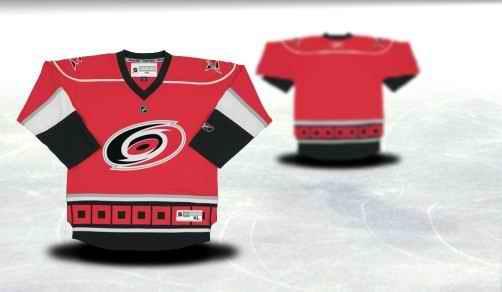 Carolina Hurricanes Youth Customized Red Jersey