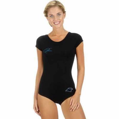 Carolina Panthers Black Women Swimsuit