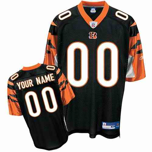 Cincinnati Bengals Youth Customized black Jersey