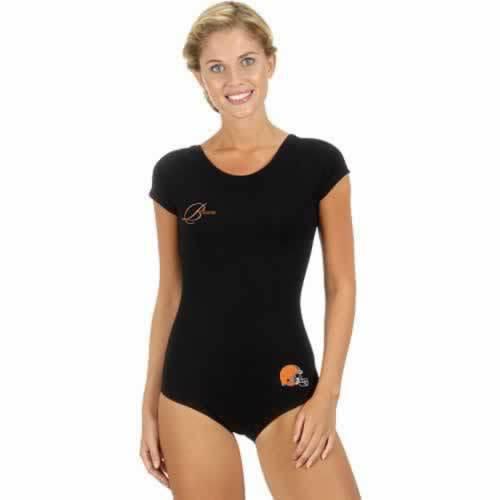 Cleveland Browns Black Women Swimsuit