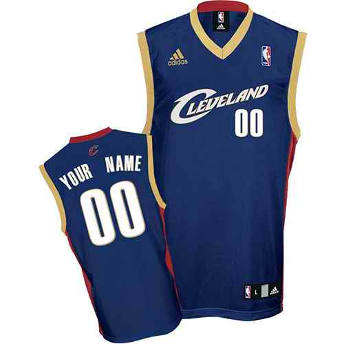 Cleveland Cavaliers Youth Custom blue Jersey