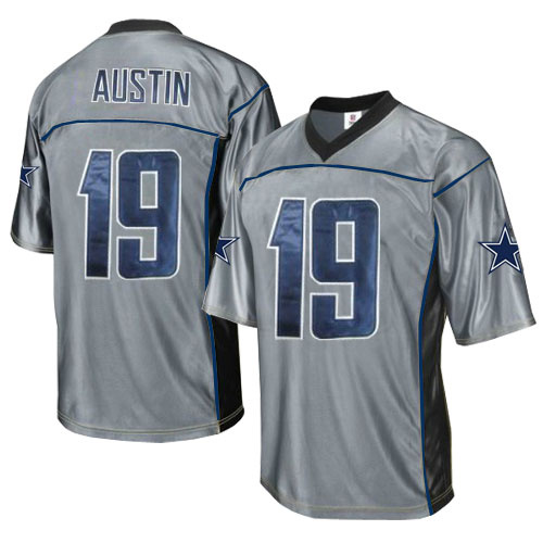 Cowboys 19 Austin Grey Jersey