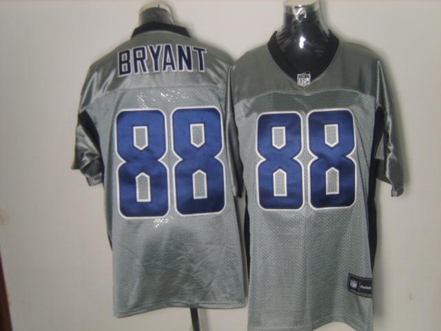 Cowboys 88 Bryant Grey Jerseys