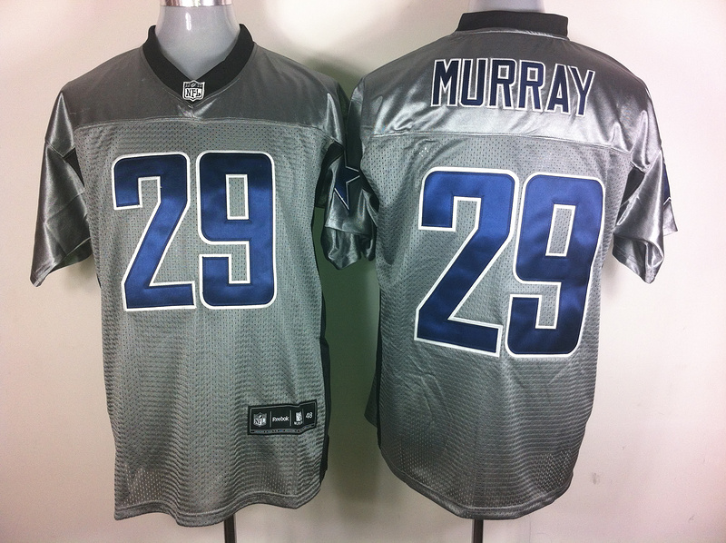 Cowboys 29 Murray Grey Shadow Jerseys